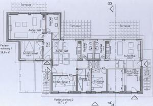 Ferienwohnung 1-3, Erdgeschoss